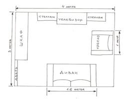 План сделанный на бумаге