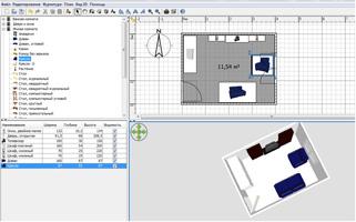 План сделанный в Sweet Home 3D