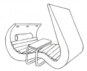 Мой вариант Wave Chaise