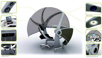 Eclipse – офисная мебель будущего