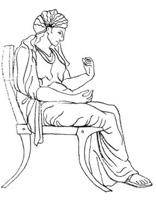 Мебель Древней Греции