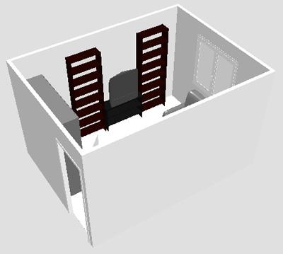 План - Как расставить мебель в комнате