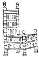 Романский стиль мебели