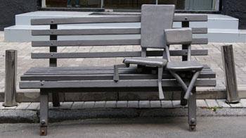 Обнимающиеся стулья