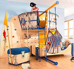 Детская мебель на пиратскую тематику