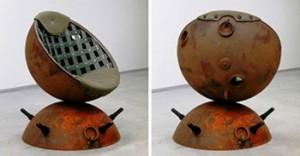 кресло из глубинной бомбы