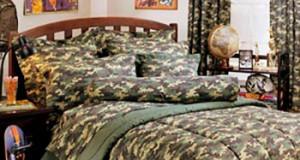 кровать в стиле милитари