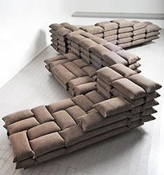диван в стиле милитари