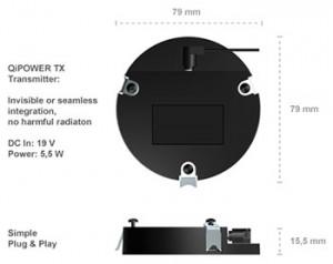 Зарядный модуль - QiPOWER TX