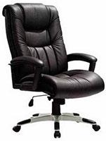 Кресло руководителя коричневое
