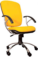 Кресло для персонала желтое