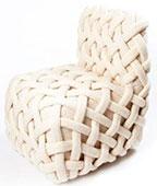 Вязанное кресло