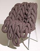 Вязанный стул