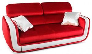 Современный прямой диван