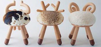 Табуреты в форме Овцы