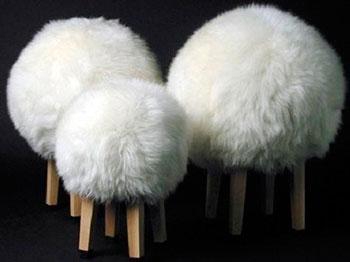 Табуретки в форме Овцы