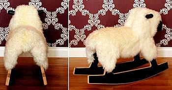 Детская качалка в форме Овцы