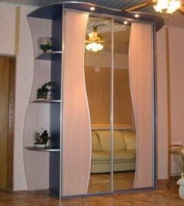 Система раздвижных дверей шкафа-купе