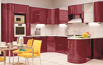 Кухонные гарнитуры в cтиле модерн