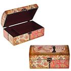 Деревянные шкатулки и плетеные корзины - необыкновенные предметы интерьера