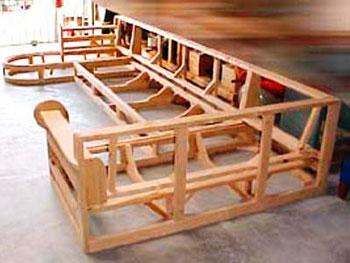 Деревянный каркас мягкой мебели