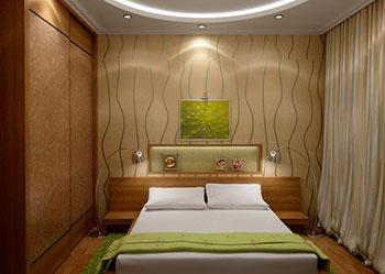 Как разместить мебель в небольшой спальне