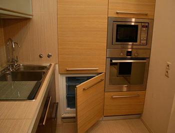Кухня со встроенной техникой – Часть 1