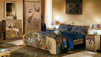 Художественная роспись мебели