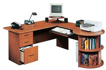 U-образный компьютерный стол