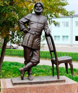 Памятник Мебельщику