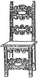 Ренессансная мебель - Стул