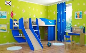 Детская мебель на морскую тематику
