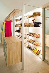 Гардеробная DRESSWALL - полки для обуви