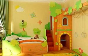 Комбинированная детская мебель для девочек