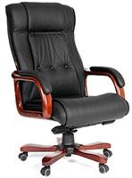 Кресло руководителя черное