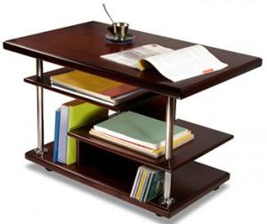 Журнальный столик с полками