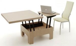 Журнальный столик-трансформер