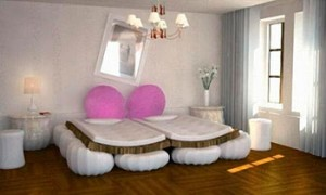 Кровать для семейной пары