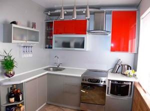 Кухонный гарнитур для малогабаритной квартиры