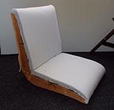 Как перетянуть кресло дома