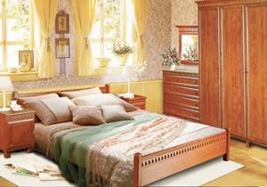 Как расставить спальный гарнитур в маленькой комнате