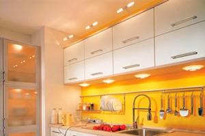 Зачем нужны мебельные светильники на кухне