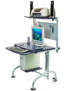 Компьютерный стол-стойка